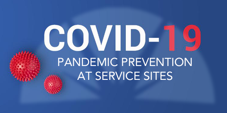 Pandemic Prevention At Service Sites